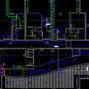 Revit Software HVAC rendering